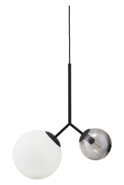 Hanglamp twice black 70cm