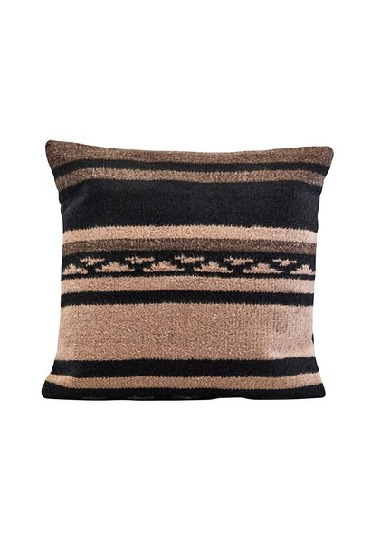 Kussenhoes berber 50x50cm Brown