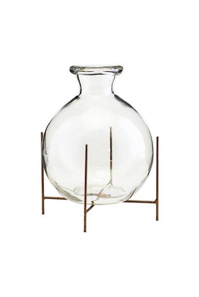 Vaas vase w stand lana 17x15cm