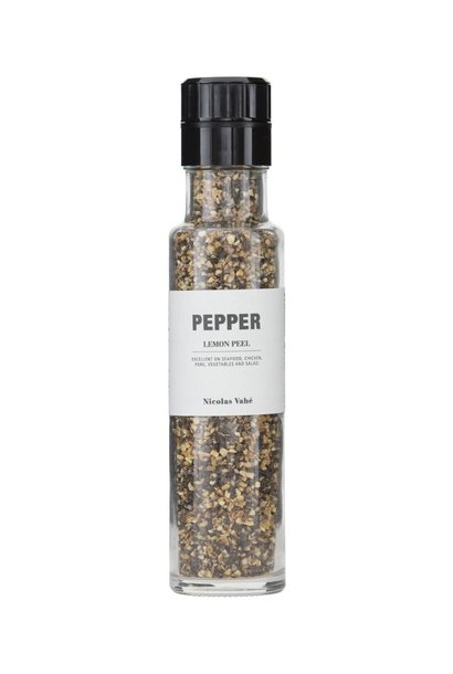 Peper black pepper lemon 150gr