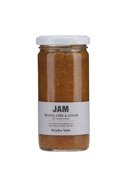 Jam orange lime ginger 270gr