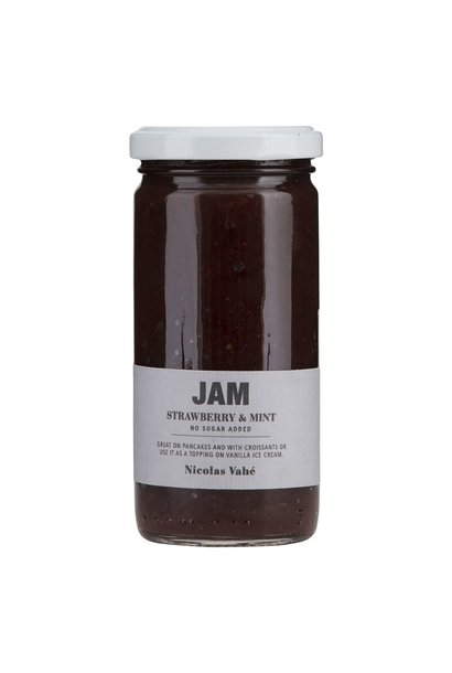 Jam strawberry mint 270gr