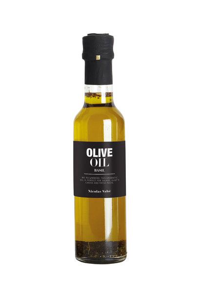 Olijf olie olive oil basil 25cl