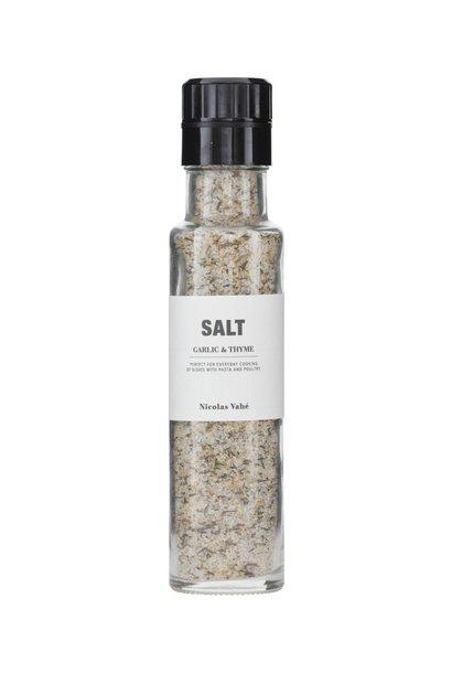 Zout saltgarlic thyme 320gr