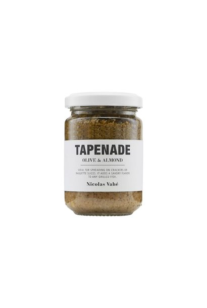Tapenade spread green olive almond 140gr