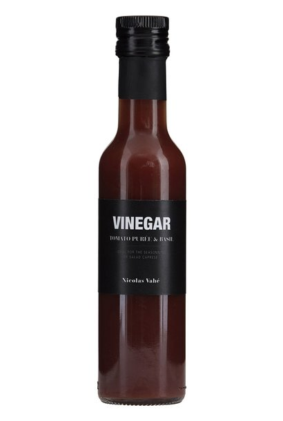 Vineger tomato puree Basil