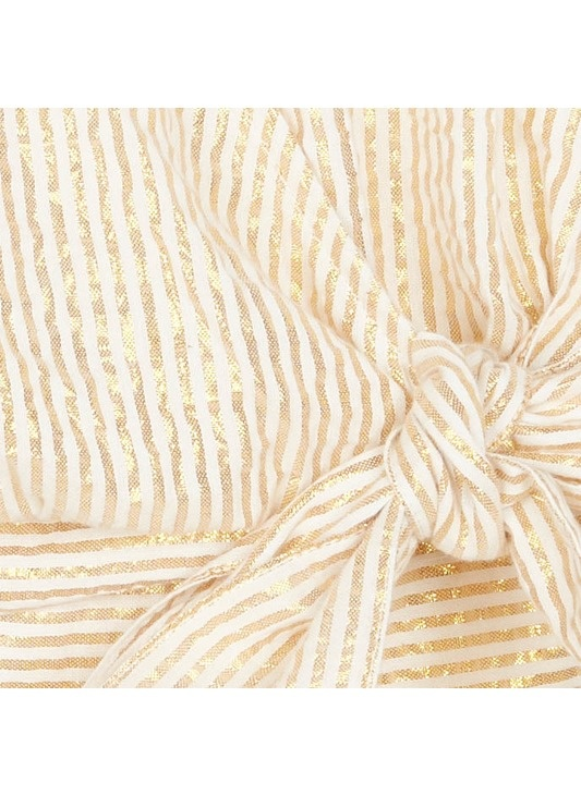 Blouse wrap striped gold-5