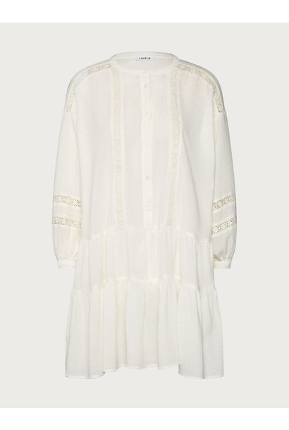 Jurk Despina dress wit wit