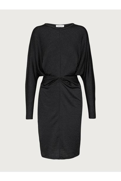 Jurk Moreen dress zwart zwart
