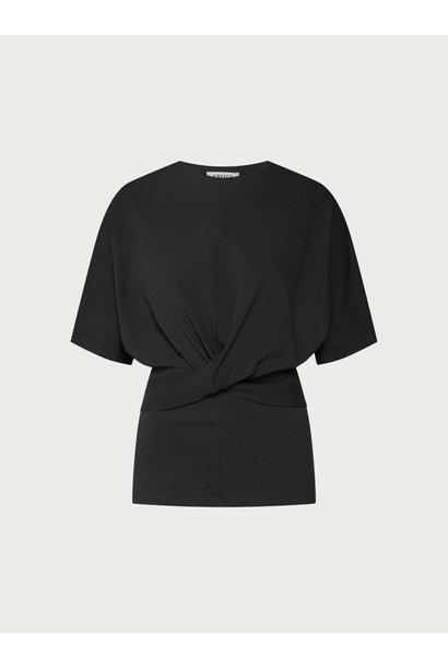T-shirt Tenley topzwart zwart