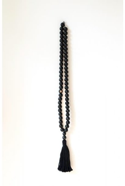 Wandhanger ketting, wall jewelry XL black