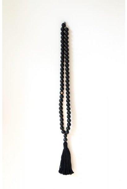 Wandhanger ketting XL black