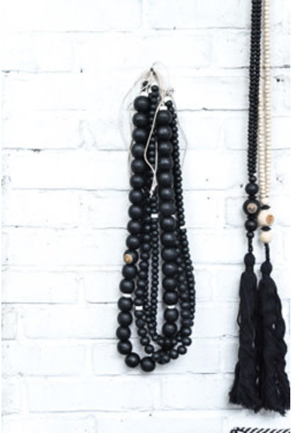Wandhanger wall jewelry black mix