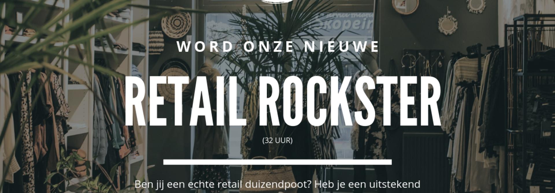 Vacature Retail Rockster