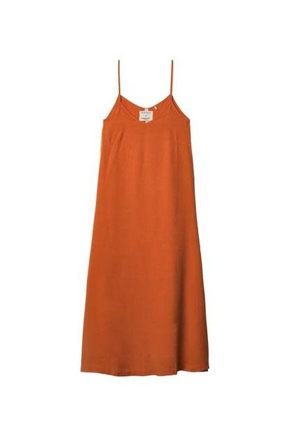 Jurk No8 Strappy orange red Emily Marant