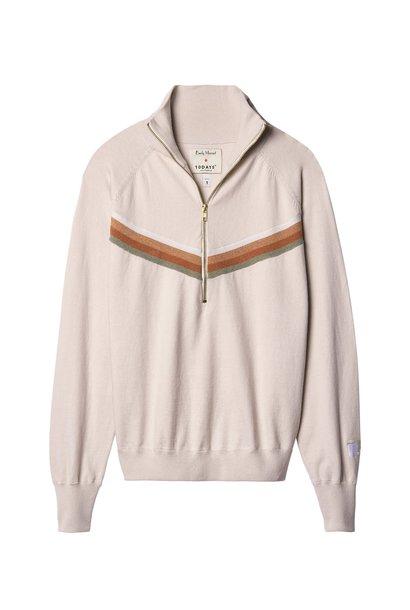 Sweater No9 Knitted Emily Marant Ecru