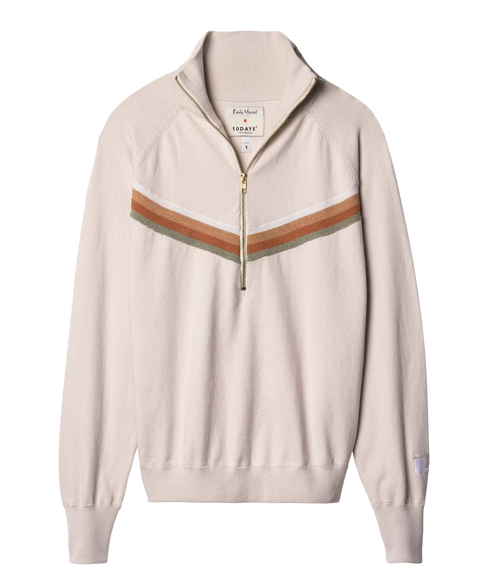 Sweater No9 Knitted Jumper Emily Marant-1