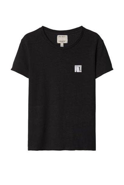 T-shirt No3 Linen Tee Emlly Marant Black