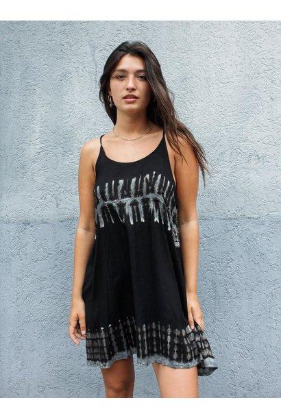 Jurk Batik Black