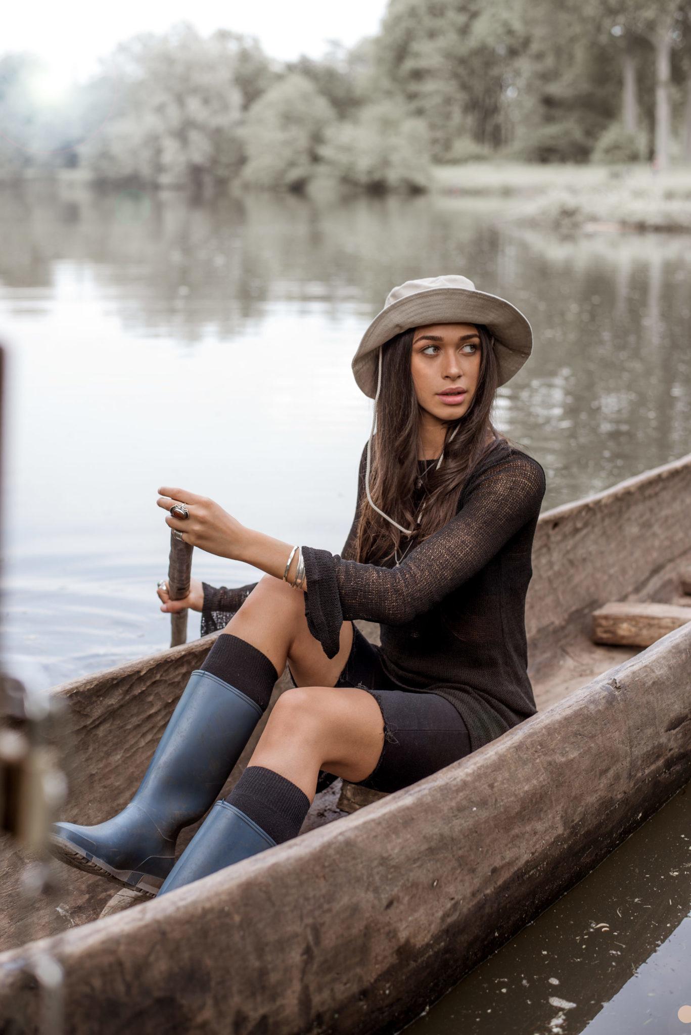 Jurk Amina Knitted Black-2