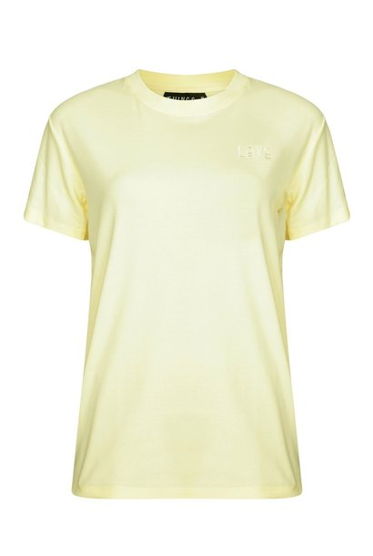 T-shirt Love Tee Beige