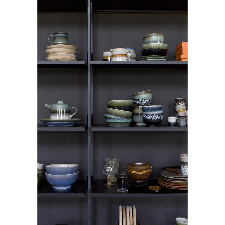 Kom ceramic 70's bowl medium: ocean-2