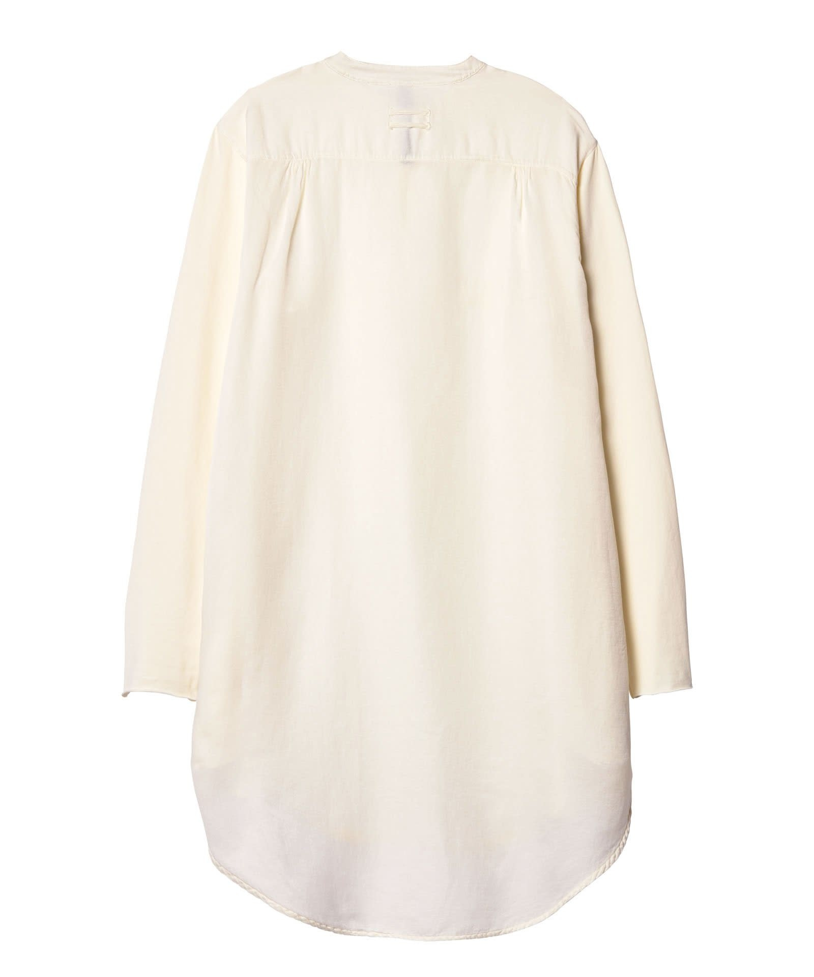 Blouse tunic silk white-3