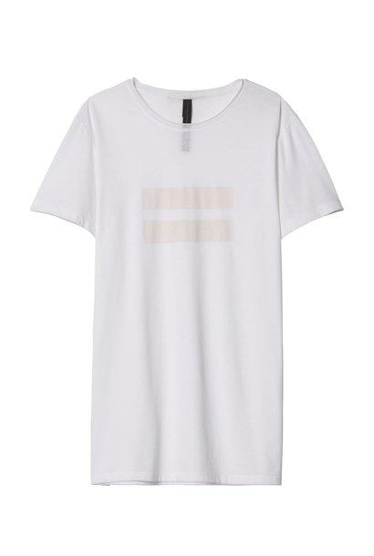 T-shirt tee two stripes White