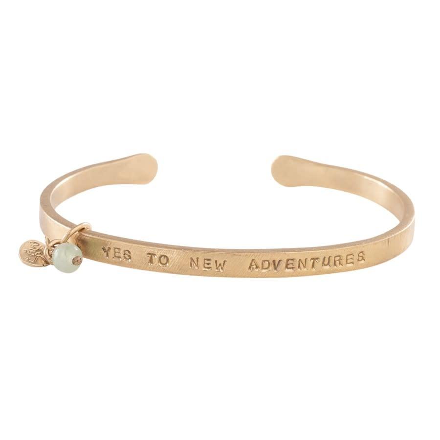 Armband Pure Aventurine Gold-1