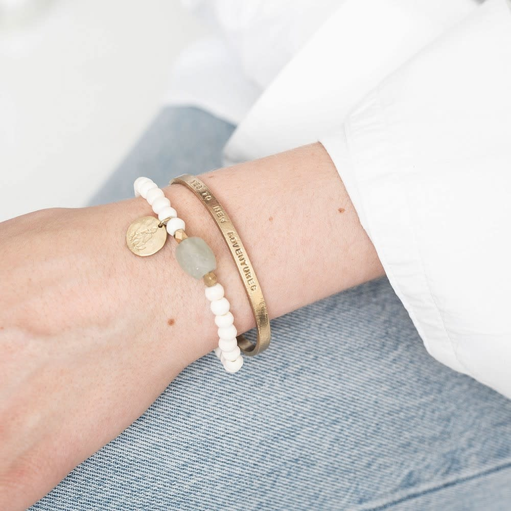 Armband Pure Aventurine Gold-2