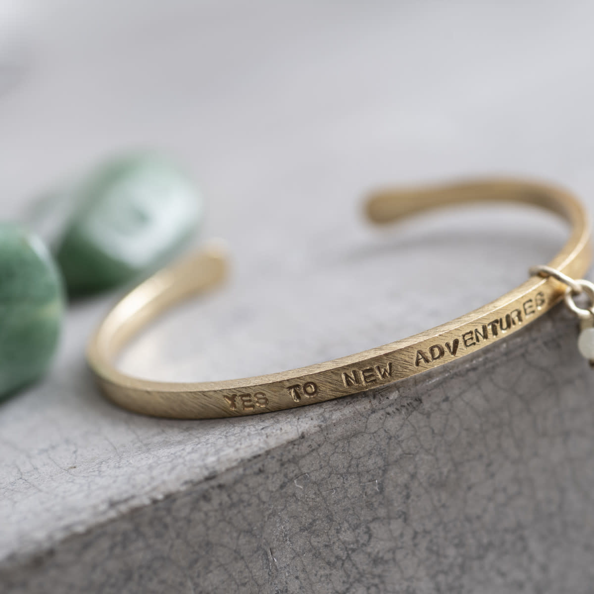Armband Pure Aventurine Gold-3