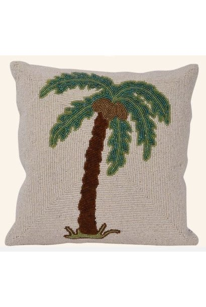 Kussen Small beads palmtree single