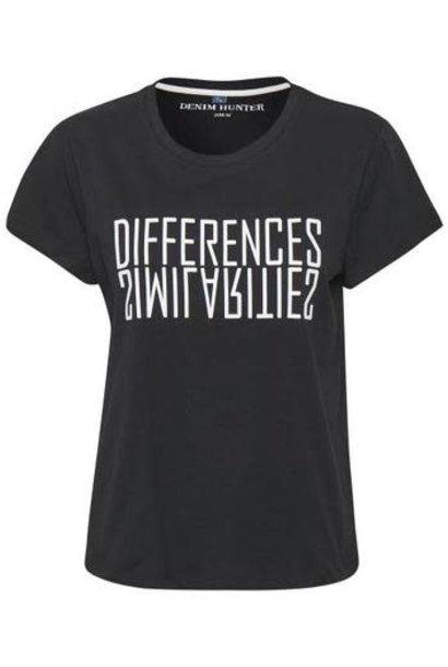 T-shirt DHRio Diff Tee Jersey black