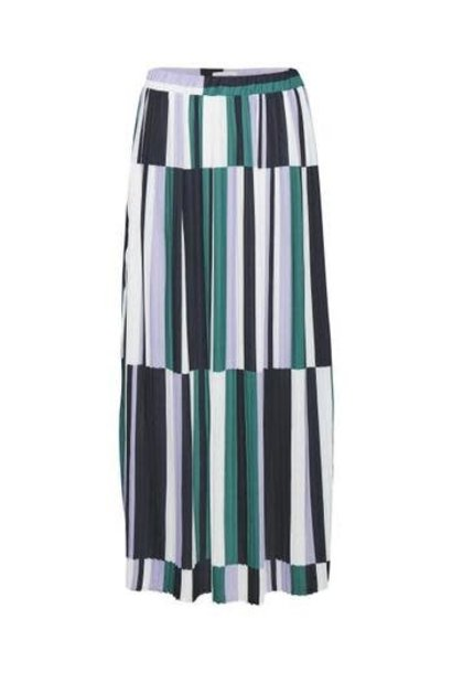 Rok Maxi Martes Pleated Printed