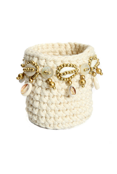 The gold Macrame Natural S