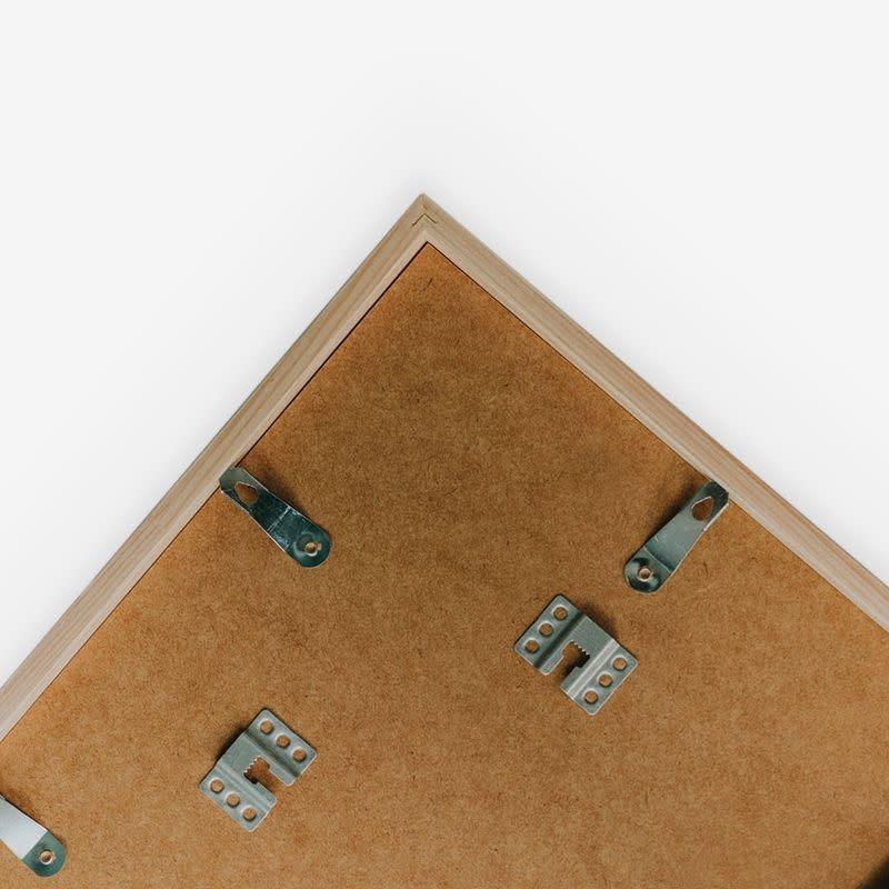 Fotolijst hout zwart - A4 / 21X30cm-3