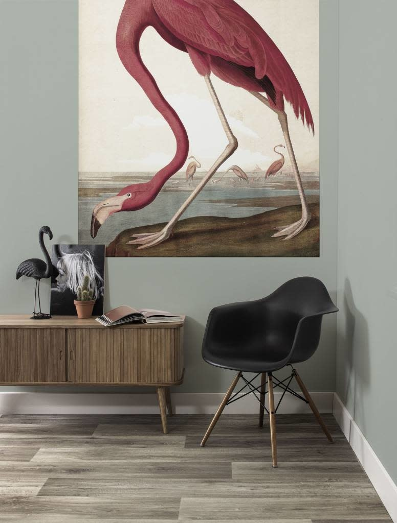 Behang paneel Flamingo 142,5x180cm-2