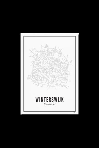 Poster Winterswijk - City Winterswijk / 40X50cm