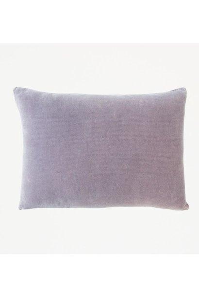 Kussen Vintage velvet Purple ash