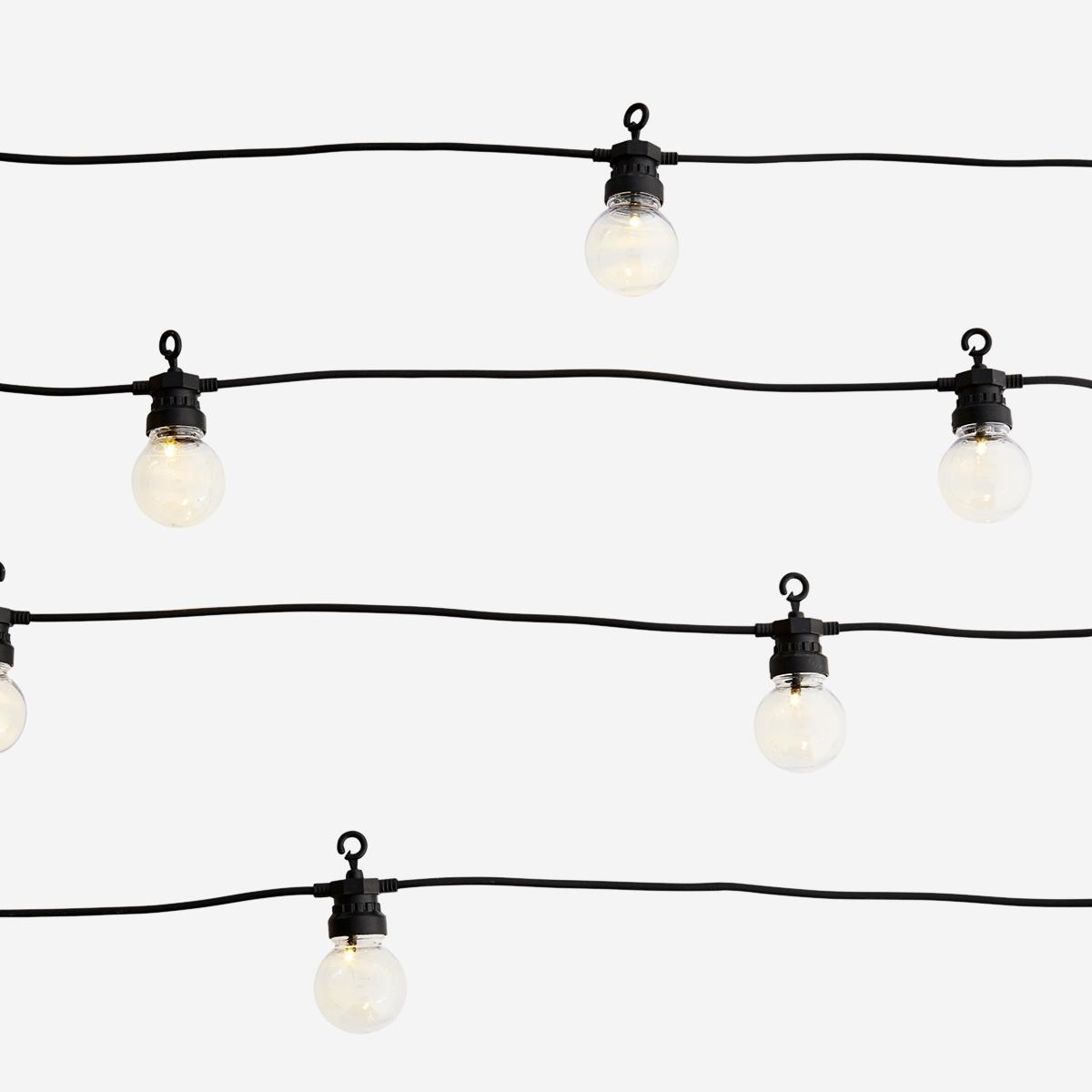 Lampjes Outdoor string lights 8,5m Black-1