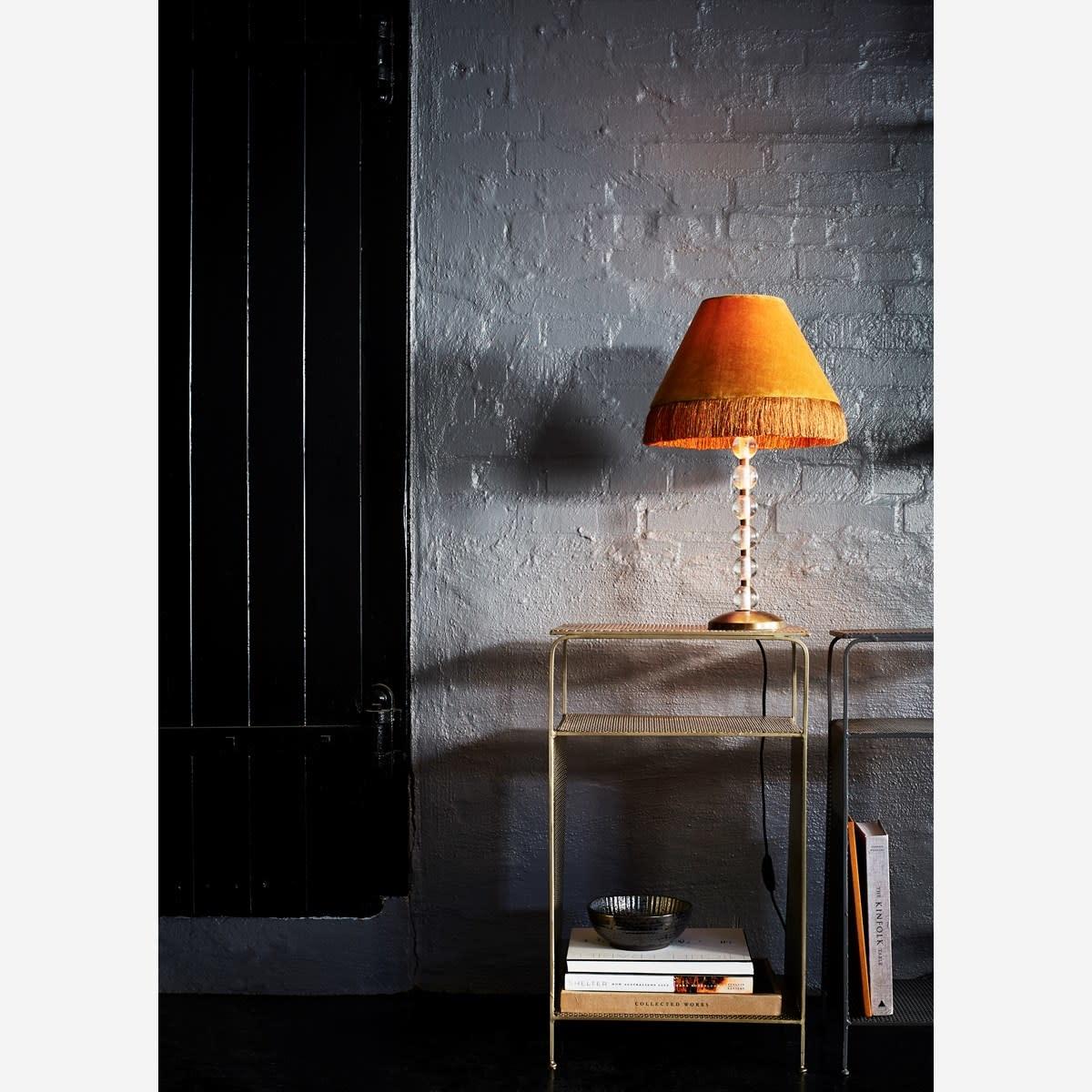 Kast Standing iron shelf 41x30x70cm Gold-2