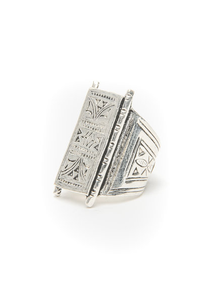 Ring engraved Silver