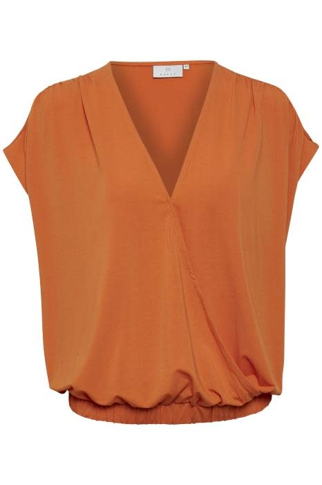 Blouse Kamolly orange-1