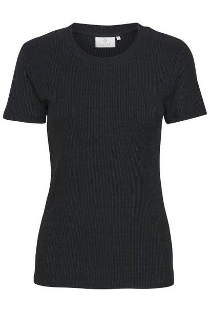 T-shirt Kalia Oneck black