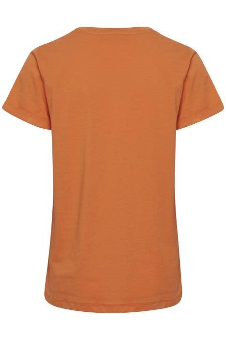 T-shirt Kafie Orange-3