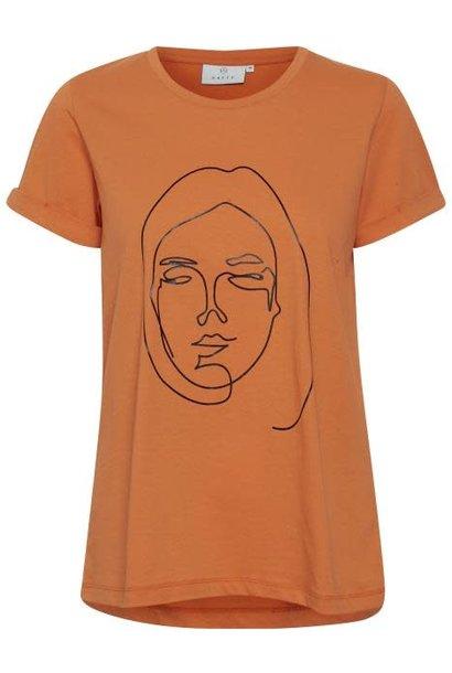 T-shirt Kafie Orange