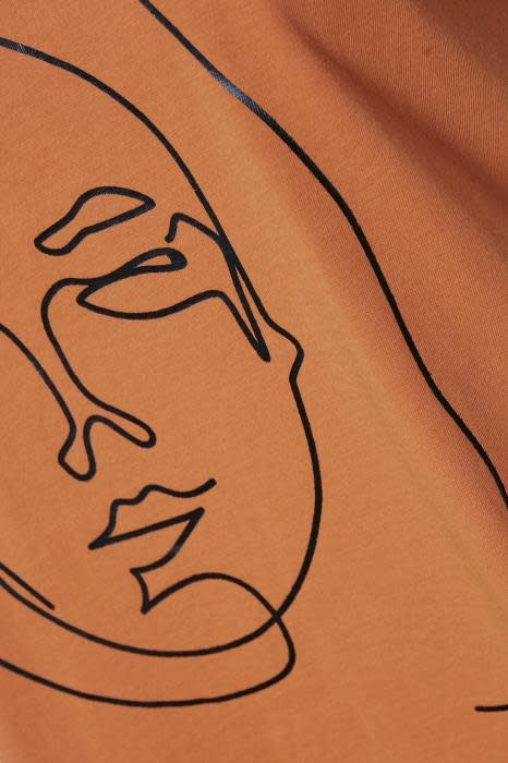 T-shirt Kafie Orange-2