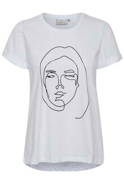 T-shirt Kafie White