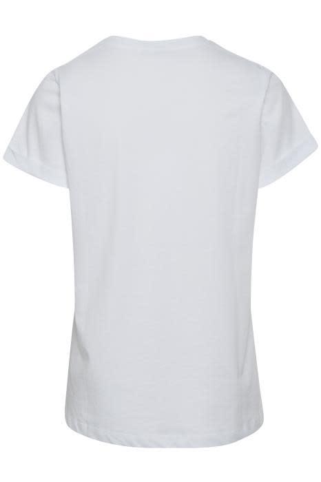 T-shirt Kafie White-3