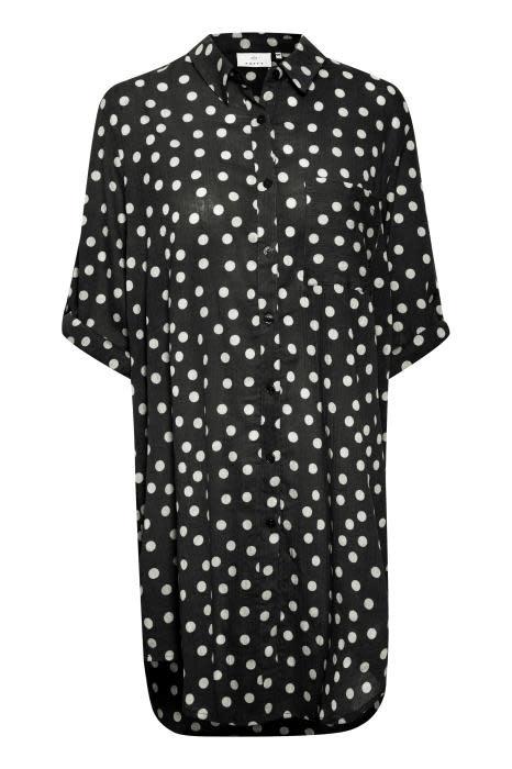 Lange blouse Kavivian dot-1